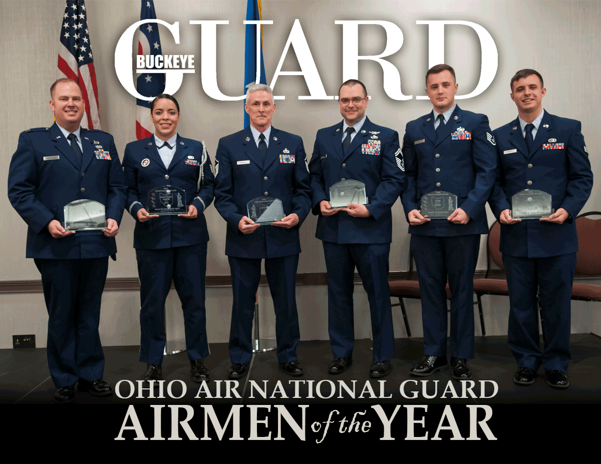 Buckeye Guard - Vol 38, No1 cover. Official online publication of the Ohio National Guard
