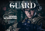 Cover of March/April Buckeye Guard digital magazine.