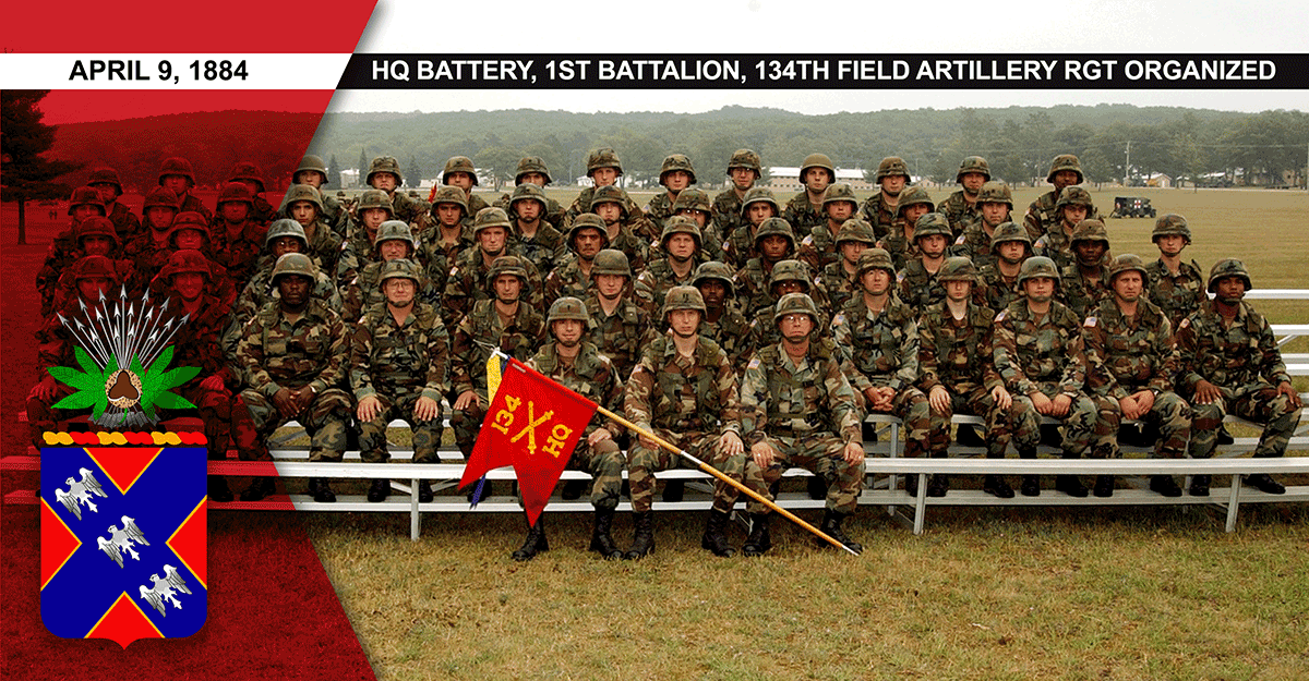 2005: Soldiers sit for a unit photo.