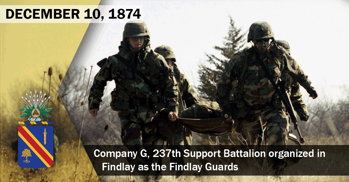 In this March 1999 photo, Headquarters Company medics Spc. Andrew Martin (from left), Sgt. Eric Mathewson, Spc. William Latimer and Pfc. Jude Remy carry a casualty to a landing zone during platoon training near the Allen County Airport.