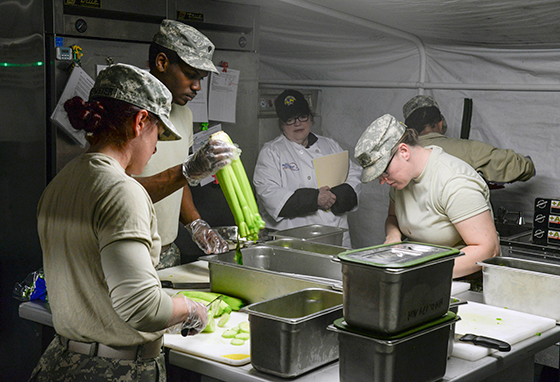 ohio national guard culinary specialists face tough test