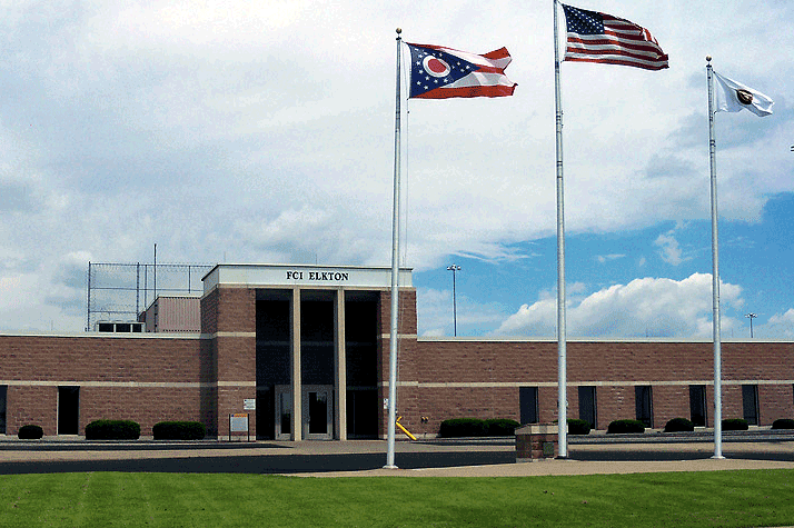 Front of Elkton Federal Correctional Institute